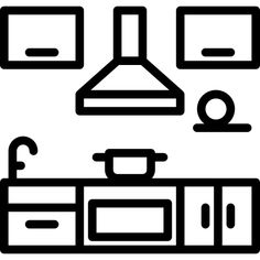 Kitchen free vector icons designed by xnimrodx Disney Drawings Sketches, Art Drawings For Kids, Kawaii Drawings, Drawing Sketches, Drawing Ideas, Colouring Pages, Coloring Sheets, Vector Icons, Vector Free