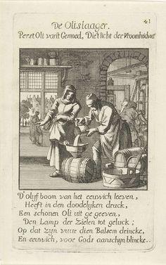Olieslager, Caspar Luyken, Jan Luyken, Jan Luyken, 1694