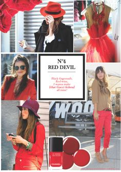 The red devil. Devil, Gucci, Ruffle Blouse, Sky, How To Make, Black, Tops, Women, Fashion