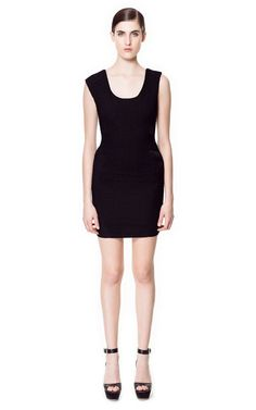 DRESS WITH EDGING - Dresses - Woman - ZARA United States