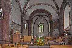 Muttenz Online: Photo Gallery Interior of St. Arbogast Church