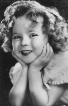 Shirley Temple. America's first little sweetheart