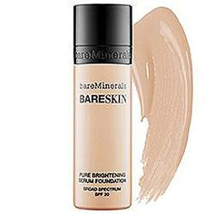 Bare Minerals BareSkin: The One Bottle of Face Makeup You Need This Summer#SelfMagazine