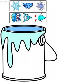 cheznounoucricri - Page 47 Autism Activities, Toddler Learning Activities, Color Activities, Kindergarten Activities, Teaching Kids, Preschool Colors, Teaching Colors, Preschool Crafts, File Folder Activities