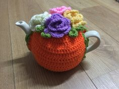 Crochet Tea cosy for a medium or large by SpecialHandmade444
