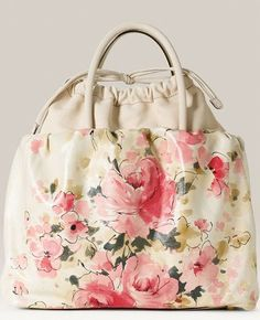 floral leather