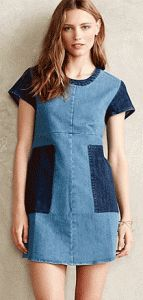 The Essential Denim Dress - free sewing pattern