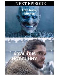Game Of Thrones Memes 2019 - Arya if she could get NK's face. Season Game of Thrones. Game Of Thrones Meme, Dessin Game Of Thrones, Arte Game Of Thrones, Game Of Thrones Dragons, Game Of Throne Lustig, Game Of Trones, Got Memes, Season 8, News Games