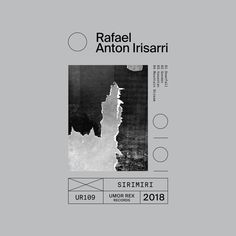 Rafael Anton Irisarri: Sirimiri (Umor Rex, 2018); artwork by Dabniel Castrejon)
