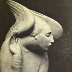 Ivan Mestrovic- Archangel Gabriel  How to Listen  Tilt your head slightly to one side and lift  your eyebrows expectantly. Ask questions.  Delve into the subject at hand or let  things come randomly. Don't expect answers.  Forget everything you've ever...