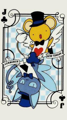 Fondos para celular Wallpaper Clamp Sakura card captors anime Kero