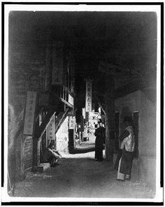 Photo: Chinatown, Los Angeles CA c1922