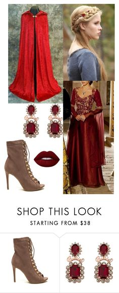 """""""Analise"""" by mistressofthelight ❤ liked on Polyvore featuring Lime Crime, Merlin and medieval"""
