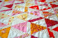 the ladies' stitching club quilt - Straight Stitch Society