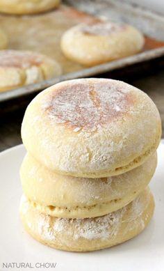 Clean Eating Einkorn English Muffins Recipe