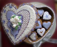 Amazing! Mother's Day Cookies, Fancy Cookies, Vintage Cookies, Valentine Cookies, Iced Cookies, Cute Cookies, Sugar Cookies, Christmas Cookies, Cookie House