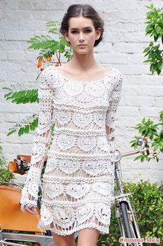 Сердечное платье от Ванессы Монторо - Вяжем вместе он-лайн - Страна Мам