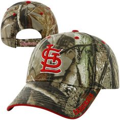 St. Louis Cardinals  47 Brand Frost Adjustable Hat - Realtree Camo St Louis  Cardinals 8d94ed02a04