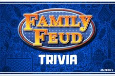 Gather interesting questions to play the ultimate Family Feud trivia questions & answers quiz game just as played on the television. Good luck to play the preeminent quiz game Trivia Questions For Adults, Family Feud Game Questions, Trivia Questions For Kids, Question And Answer Games, Funny Questions, Family Feud Funny Answers, Quiz Questions And Answers, Family Feud For Kids, Family Fun Games
