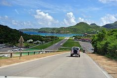 The view from the top of the hill overlooking the airport, St. Jean beach and more! photo (c) Cover More