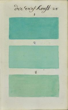 """271 Years Before Pantone, an Artist Mixed and Described Every Color Imaginable in an 800-Page Book"" via thisiscolossal"