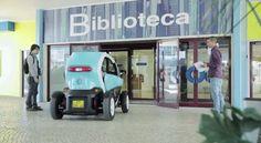 Pas mal cette opé de Renault Portugal avec l'agence Publicis Groupe : une Twizy qui se balade dans une bibliothèque !  Oui oui !  http://www.minutecom.com/?p=2202