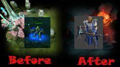 Эволюция героя Omniknight Dota 2