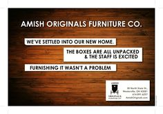 Grand Opening Adver Featured In Edible Columbus Amish Originals Furniture Co