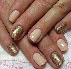 Subtle and pretty Gel Nails #gelnails #nails #nailart #kelownasalonandspa #kelownadayspa #mm
