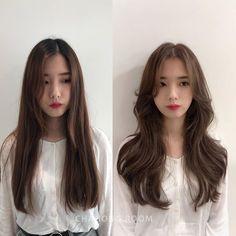Korean Long Hair, Korean Hair Color, Korean Haircut Long, Hair Korean Style, Korean Medium Hair, Korean Hairstyle Long, Haircuts Straight Hair, Long Hair Cuts, Medium Hair Styles