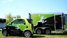 Arborwood Vehicle Wrap