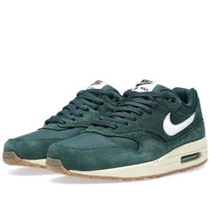 Nike Air Max 1 Essential Pro Green/Sail-Black-Black Sneaker - Heren