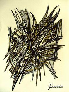 """#RT #art #drawing """"Structure plane"""" by fiasco. Encre sur papier pic.twitter.com/Qbr8Nc5siB http://fb.me/6S58K5y3E"""
