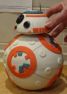 bb-8 cake - For all your cake decorating supplies, please visit craftcompany.co.uk