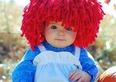 Baby Raggedy Ann - Halloween