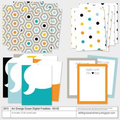 40 Digital Freebie Kits {02} | Project Life Style Cards