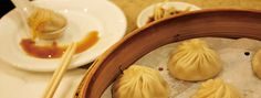 Din Tai Fung. Excellent Authentic Chinese food. Try: Taro, Sesame, and Pork dumplings.