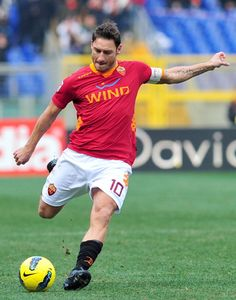 Francesco Totti, 'Il Capitano' #Roma