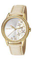Esprit ES107302004 – Women's Watch, Leather, color: beige