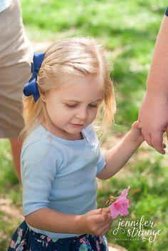 Family Photography, Burlington, North Carolina, Spring, Garden, Park, Lifestyle, Copyright Jennifer Strange Photography