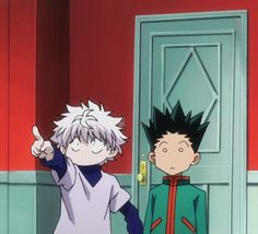 Hunter x Hunter When you realize you've made a mistake.