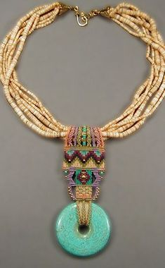 African - inspired necklace.  My Collection