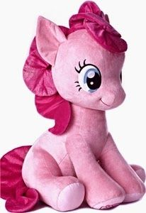 Toywiz has tossed up pre-orders for both of the Jumbo sized Pinkie Pie and Rainbow dash that are expected some time in July. These guys clock in at 26 inches tall according to the description, but the price matches that at a whopping $100.