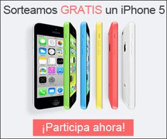 Gana un iPhone 5 gratis