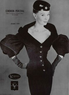 Fashion Vintage Photography Jacques Fath 19 Ideas Fashion Vintage Photography Jacques Fath 19 IdeasYou can find Jacques fath and mo. Couture Vintage, Vintage Fashion 1950s, Vintage 1950s Dresses, Vestidos Vintage, Vintage Mode, Vintage Outfits, Vintage Clothing, 50 Fashion, Fashion History