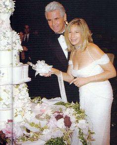 Barbra Streisand And James Brolin Wedding Cake. #Celebritystyleweddings.com @Jason Jones Style Weddings