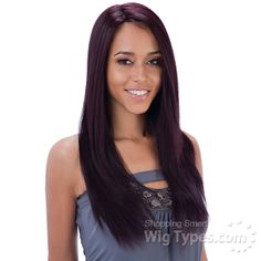 Freetress Equal Lace Front Wig Deep Invisible Part - KENZIE (futura) [7851]