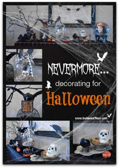 Nevermore: Decorating for Halloween
