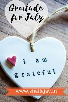 Gratitude is a powerful habit. It allows us to look back and give thanks for the silver linings in our lives. July was filled with wonderful lessons. If you are a writer, blogger, parent or anyone who works in social media, you'd be able to relate to this one. Read and do share your thoughts