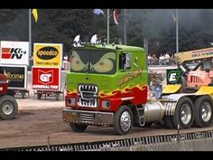 Brockasaurus @ the Erie County Fair Truck and Tractor Pull